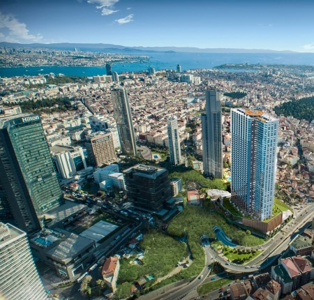 Exterior image - Investmant apartments for sale in installments in a Residential Tower in Şişli-Istanbul with Discount offers - 24825