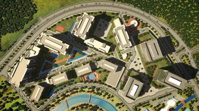 Exterior image - Luxurious Investment Apartments for sale near Belgrad Forest & Metro station in Sarıyer-Istanbul - 13019