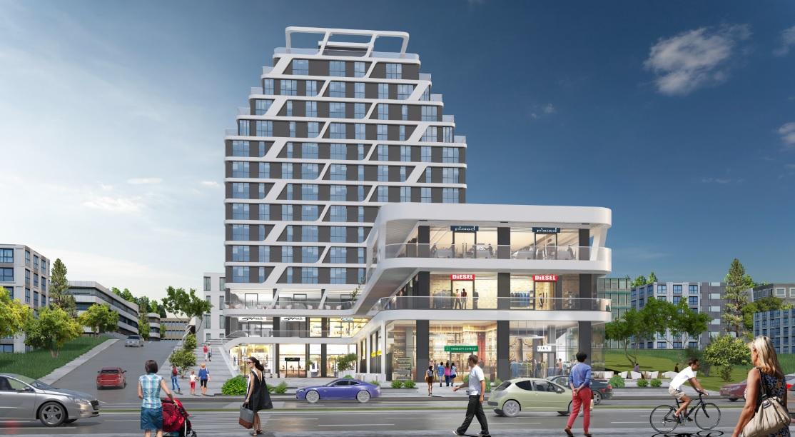 مكتبية سكنية استثمارية للبيع بالتقسيط