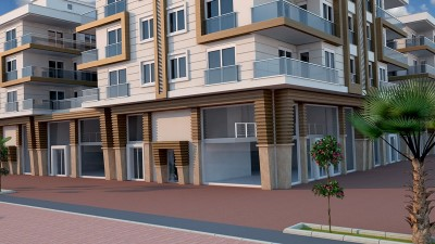 Exterior image - Ready to move in apartments for sale in Kepez-Antalya with installments up to 5 years - 13763