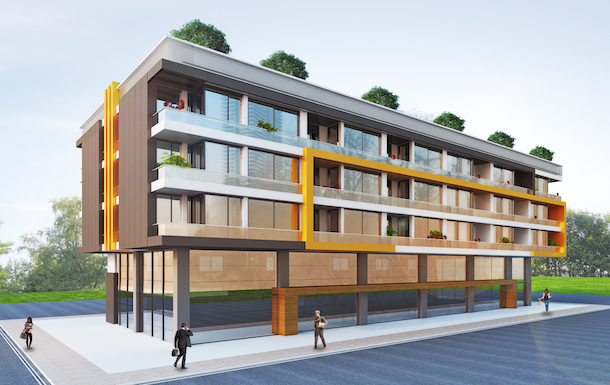 Exterior Image   Buy An Apartment In A Residential Compound Near Konyaalti  Beach In Antalya