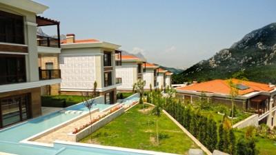 صورة خارجية - فلل عطلات للبيع مع مسبح و إطلالة خلابة لجبال طوروس في كونيالتي-أنطاليا - 14278