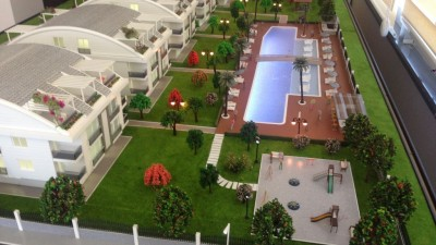 Exterior image - Ready cheap apartments in a residential compound for sale in Güzeloba Lara-Antalya - 14626