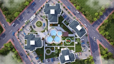 Exterior image - Convenient price apartments complex with central location in Kepez-Antalya - 15225