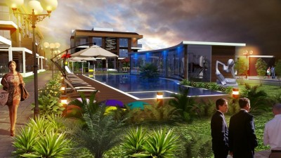 Exterior image - Luxury apartments and villas for sale in a quiet area in Döşemealtı-Antalya - 15430