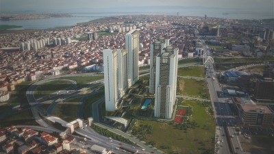 Exterior image - ready to move in Apartments for Sale in Installments near Esenyurt Square in a Complex in Istanbul-Turkey - 15887