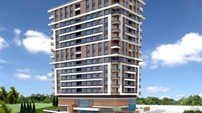 Exterior image - Apartments for sale near Akdeniz University in Kepez-Antalya - 16362