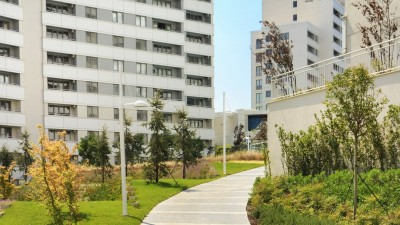 Exterior image - Apartments for sale in installments in a residential complex in Bahçeşehir-Istanbul - 17114