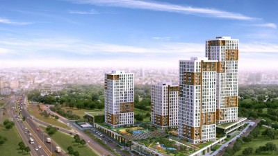 Exterior image - Apartments for sale in compound suitable for family housing in Esenyurt-Istanbul - 20255
