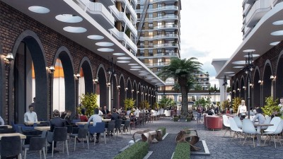 Exterior image - Apartments for sale in residential compound containing mall in Beylikdüzü-Istanbul - 20633