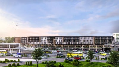Exterior image - Apartments for sale in government project directly above Metro station in Küçükçekmece-Istanbul - 20796
