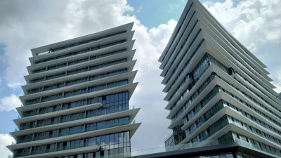 Exterior image - Apartments for sale in complex containing business center in Bahçelievler-Istanbul - 21599