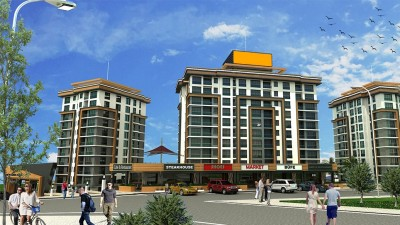 Exterior image - Forest-view apartments for sale near metro station in Eyüp-Istanbul - 21704