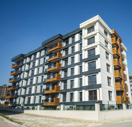 Exterior image - Apartmetns for sale in residential complex near ferry terminal in Büyükçekmece-Istanbul - 23784