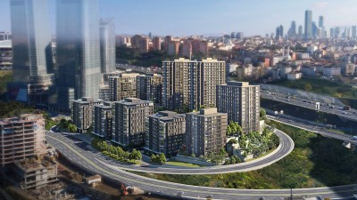 Exterior image - Apartments for sale next to inclined railway station in Sarıyer-Istanbul - 21887
