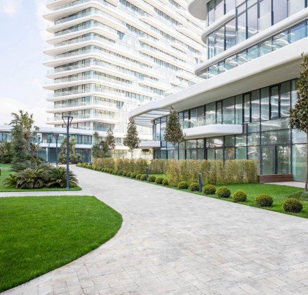 Exterior image - Sea-view apartments for sale with huge glass facades in Zeytinburnu-Istanbul - 24688