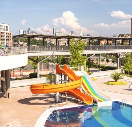 صورة خارجية - شقق جاهزة للسكن للبيع ضمن مجمع سكني جميل و مخدم في أيوب-اسطنبول - 22620