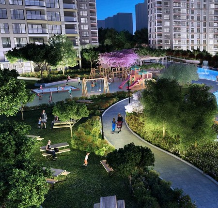 Exterior image - Apartments for sale in front of Botanical Park in Başakşehir-Istanbul - 22961
