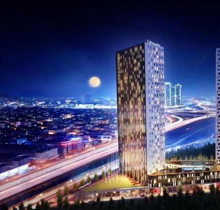 Exterior image - Hotel apartments for sale with guaranteed profit in Bağcılar-Istanbul - 24384