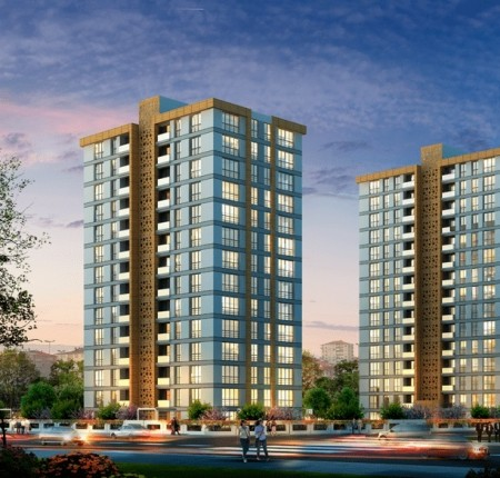 Exterior image - New apartments for sale next to Basin Ekspres in Küçükçekmece-Istanbul - 24707