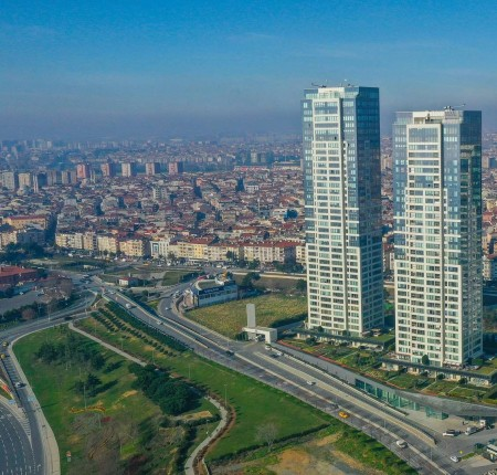 Exterior image - High-rise apartments for sale with sea and city views in Istanbul-Zeytinburnu - 24777