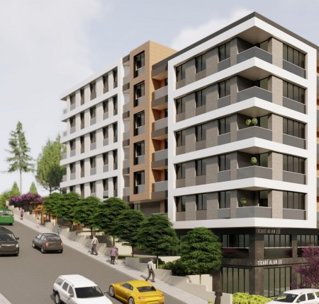 Exterior image - Apartments for sale near new metro and metrobus in Küçükçekmece-Istanbul - 24951