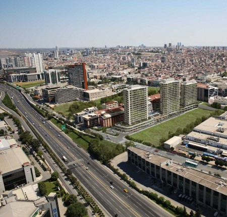 Exterior image - Apartments for sale next to Basın Ekspres & new Metro in Bağcılar-Istanbul - 25482