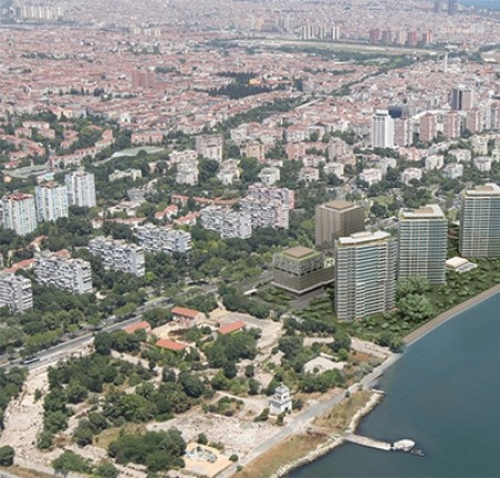 Exterior image - Apartments for sale directly on the sea within complex in Bakirkoy - Istanbul - 26296