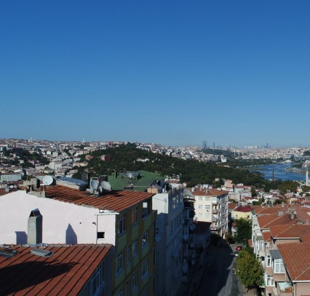 Exterior image - Golden Horn view apartments for sale near transportation in Istanbul - 26495