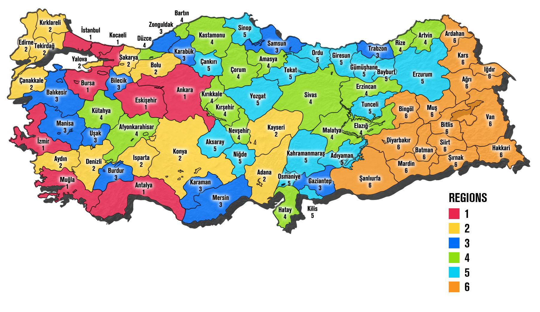 turkeyincentivesmapEN News