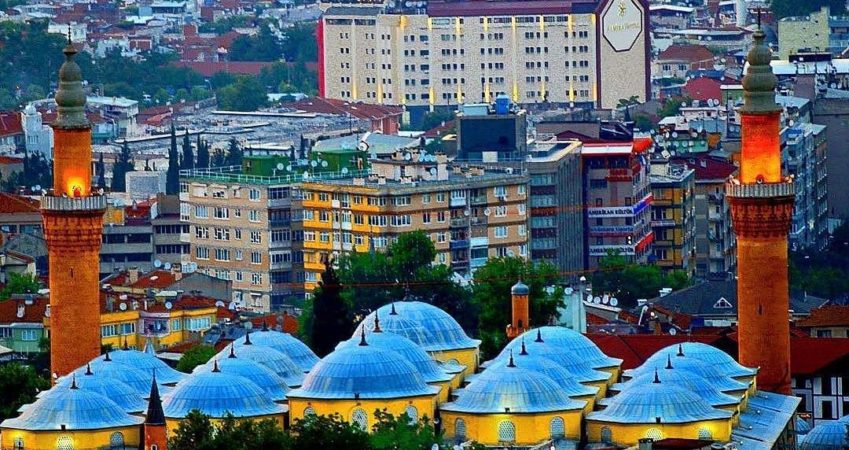 The state of Bursa, ranked fifth in the world among the healthiest cities