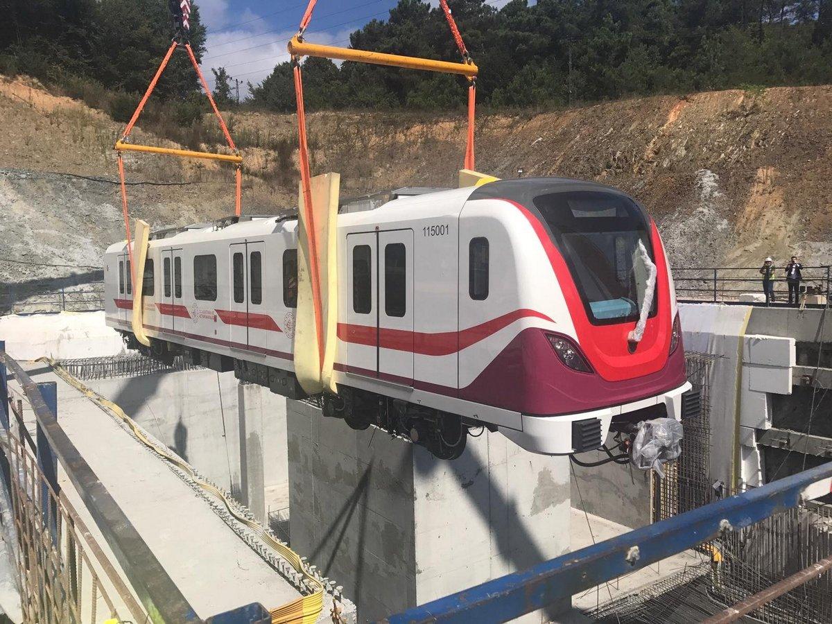 بدء اختبارات الأداء على خط مترو عالي السرعة إلى مطار إسطنبول