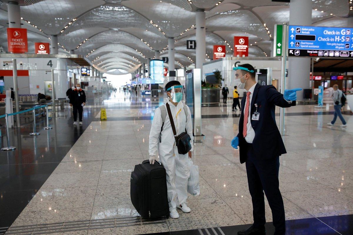 مطار اسطنبول الأكثر ازدحاماً في أوروبا لعام 2020، متجاوزاً مطار لندن هيثرو وباريس سي دي جي