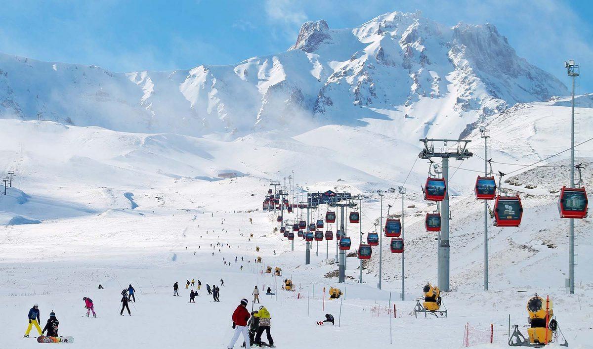 تم إدراج منتجع إرجيس للتزلج في تركيا كواحد من أفضل الوجهات في أوروبا